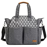 Lekebaby Extra Large Baby Diaper Bag for Mom - Best Reviews Guide
