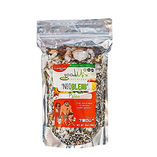 NeoBlend Gluten Free/Paleo Diet Organic Superfood Cereal & Snack Food - by goodMix Superfoods - 25 oz