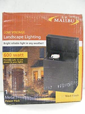 Malibu 600 Watt Transformer Power Supply Pack Landscape Lighting- Ml600twm