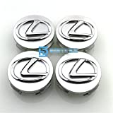 Automelody 4pcs 62mm A Set Of Wheel Center Caps Hubcap For Lexus With Swing Packing Bag (silver)