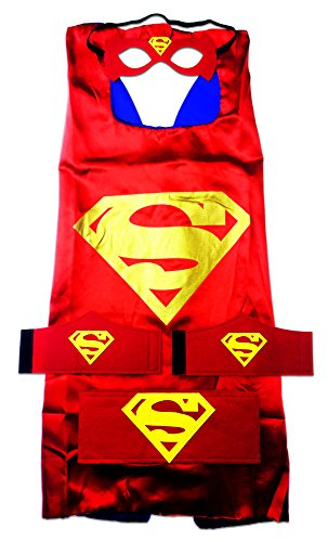 MyTinyHeroes Children's Superhero Costume - 5 Pc Set - DC Comics - Superman (Red) - Superman Costume Party City