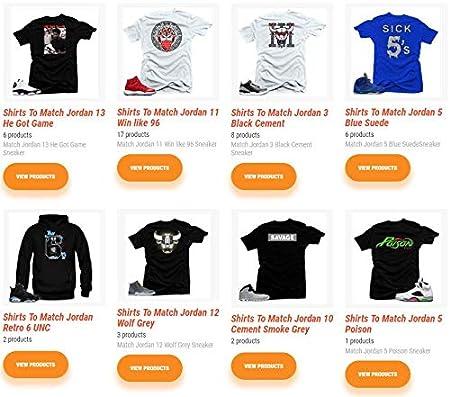 33ba22d3e285a9 Shirt  Panther Graphic T Shirt to Match Retro Air Jordan 13 High Altitude  Shoe  Amazon.com SNELOS Shirt to Match Jordan Sports Outdoors ...