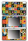 Legend of Zelda Link Retro Items Triforce Boss Key Rupee Boomerang Video Game Vinyl Decal Skin Sticker Cover for Nintendo DSi System