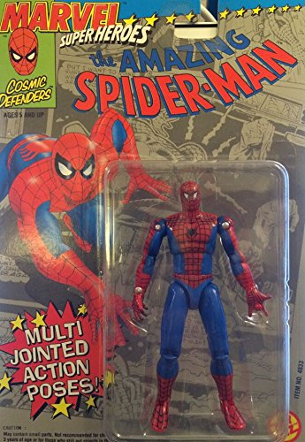 Marvel Super Heroes: The Amazing Spider-Man with Multi-Jointed Action -