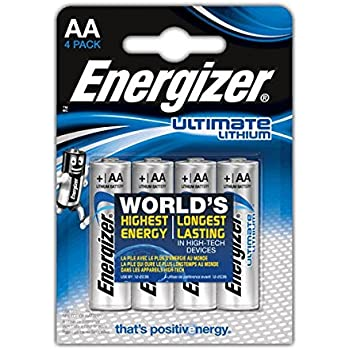Energizer Ultimate Lithium AA 1 Pack(4 quantity)