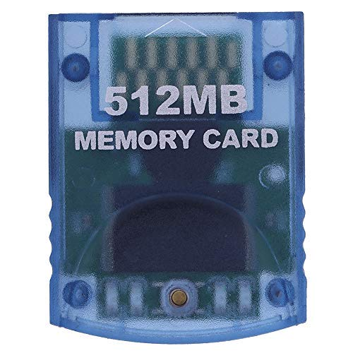 dulawei3 Professional 512MB Video Game Memory Card for Nintendo Wii Gamecube Console