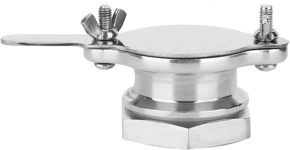 Wilecolly Honey Gate Valve, Food Grade Stainless Steel Honey Shake Machine Honey Gate Valve Beekeeping Tool