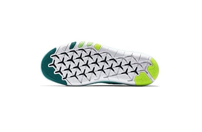 Nike 833410-301, Zapatillas de Deporte Mujer, Azul (Clear Jade/White/Rio Teal/Voltage Green), 42.5 EU