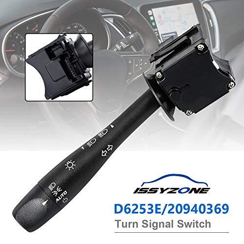 Turn Signal Switch D6253E for Chevy Malibu Pontiac G6 Headlight Dimmer Switch 20940369 ()