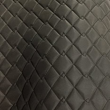 QUILTED FABRIC BLACK DOUBLE SIDED WATERPROOF Bedding Jackets Cotton Dress 150CM
