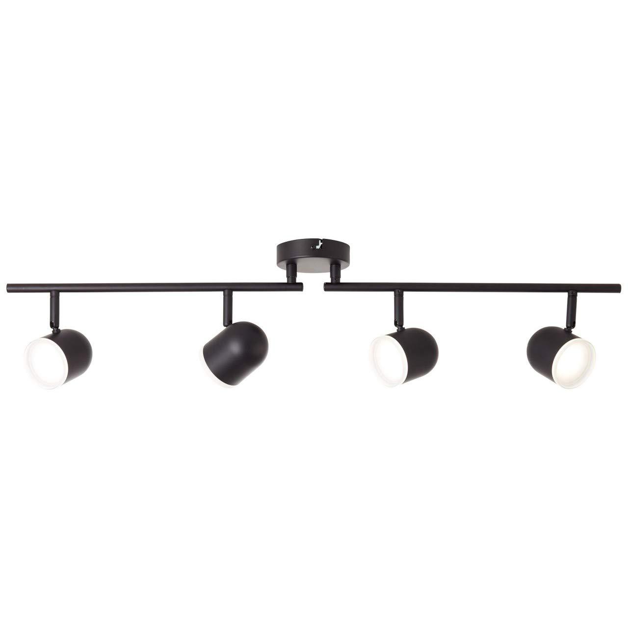 BRILLIANT GRETCHEN LED Deckenstrahler 83,5 cm Metall Kunststoff Schwarz matt 4-Flammig