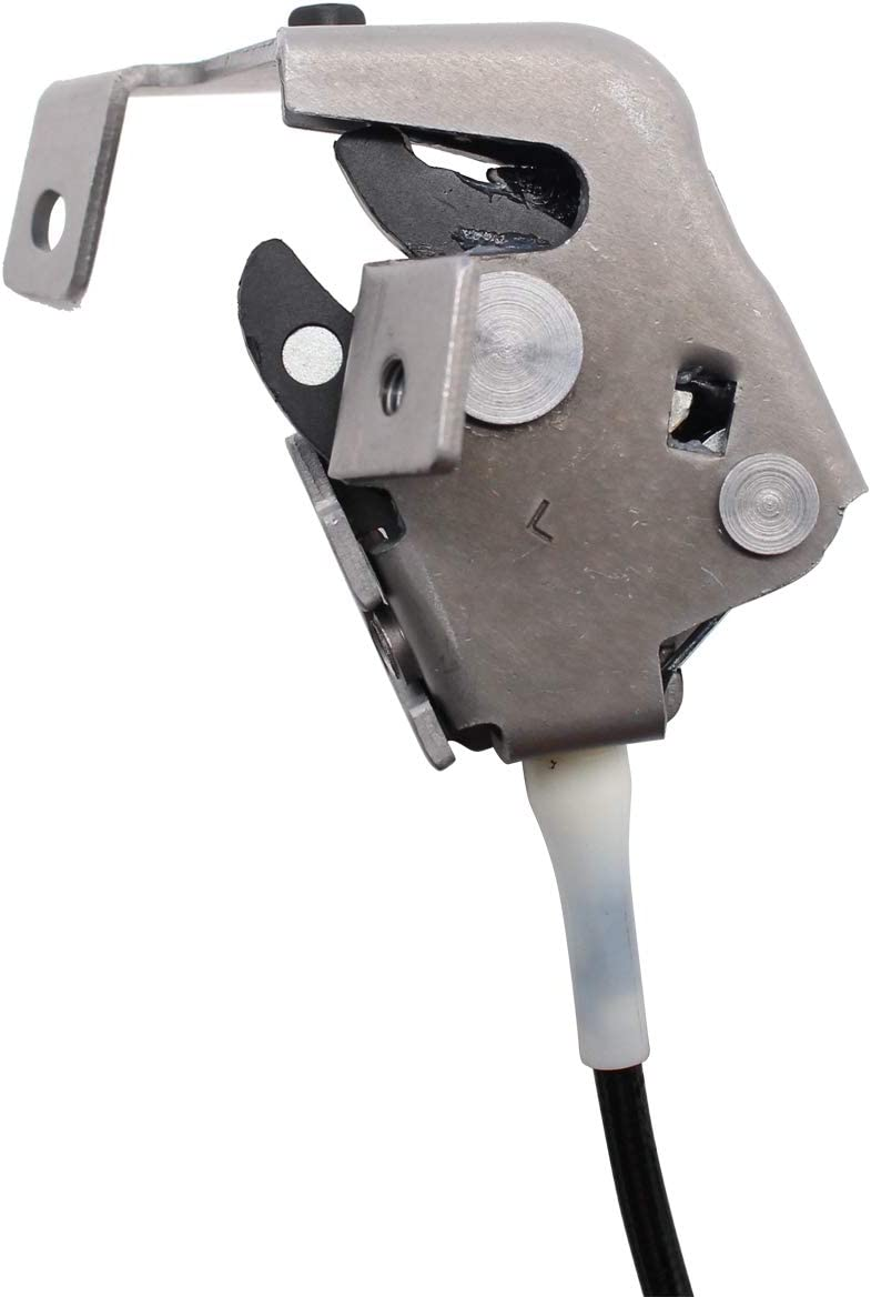 XtremeAmazing Door Latch Lock with Cable for Ford F-150 F-250 Left Side Rear Upper 6L3Z-18264A27-A