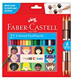 Faber-Castell World Colors Ecopencils, 27 Count