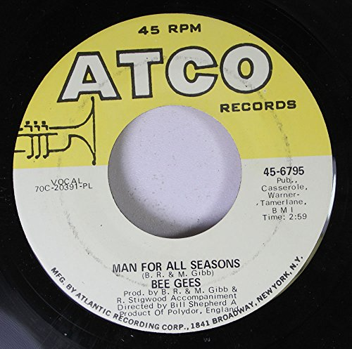 Bee Gees 45 RPM Man for all Seasons / Lonely Days