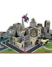 Lovepop Marvel Spiderman Father's Day 3D Pop Up Greeting Card, 1 Ct, 5 X 7 Inches, Gifts For Dad