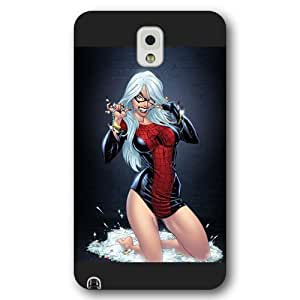 UniqueBox Customized Marvel Series Case for Samsung Galaxy Note 3, Marvel Comic Hero Spider Woman Samsung Galaxy Note 3 Case, Only Fit for Samsung Galaxy Note 3 (Black Frosted Case) wangjiang maoyi by lolosakes