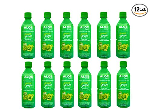 AloeVita Organic Aloe Vera in Pure Water Green Grape - Green Grape