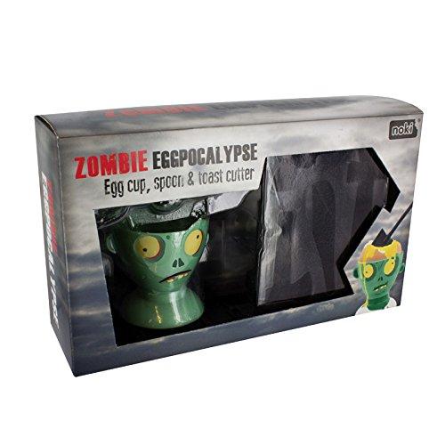 /Huevera y Cortador de Tostadas Paladone/ /Zombie Eggpocalypse/
