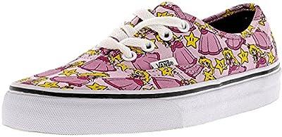 Vans Women's Authentic Nintendo Ankle-High Canvas Skateboarding Shoe