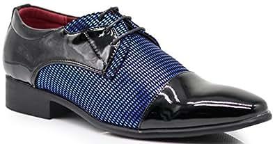 Enzo Romeo Mens Novak01 Blue Size: 7.5