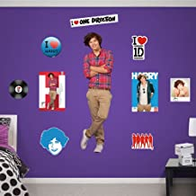 Fathead 1103-00002 Wall Decal, One Direction Harry Styles RealBig