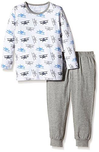 NAME IT Baby-Jungen Zweiteiliger Schlafanzug NITNIGHTSET M B NOOS, Gr. 92, Mehrfarbig (Bright White)