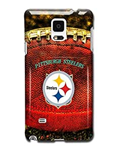 Tomhousomick Custom Design The NFL Team Pittsburgh Steelers Case Cover for Samsung Galaxy Note 4