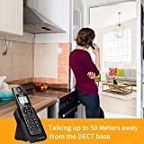 Ornin D1005 Cordless Desk Telephone for Home and