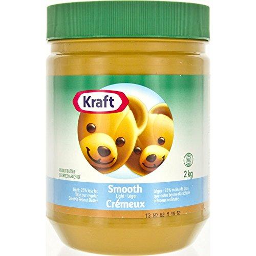 Kraft Peanut Butter Smooth - Light 2 kg (Made In Canada) (Kraft Peanut Smooth Butter)