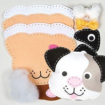 Kits de Costura de Cojines de Perros de Fieltro Que los ...