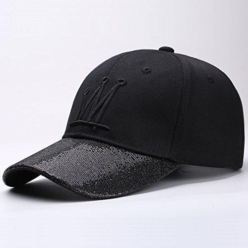 28b42cac6fc00 Hat House- Gorra de béisbol de Verano de los Hombres de la versión Coreana  del Ocio Salvaje Gorra de Marea Protección Solar Sombrero del Sol Moda Hip  Hop ...
