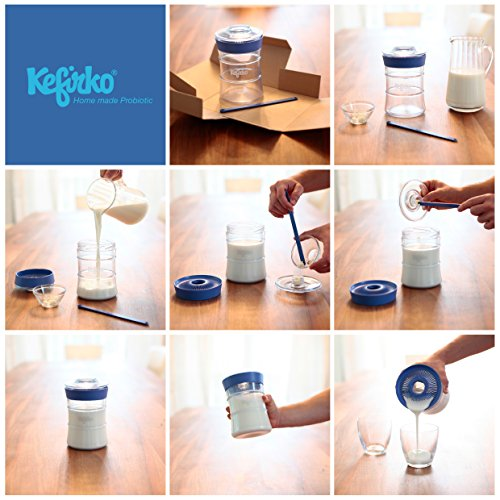 KEFIRKO - Homemade milk and water kefir system, as seen on Kickstarter by Kefirko (Image #7)