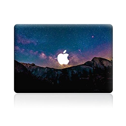 Mountain Apple (GTNINE MacBook Sticker Mountain At Night Full Set MacBook Vinyl Decal Laptop Skin Removable Sticker For Apple New Macbook Pro 13