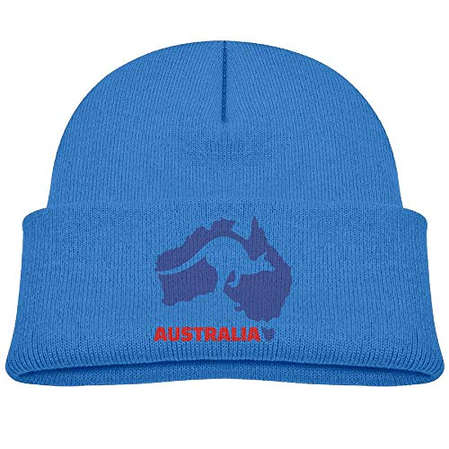 - Australia Kangaroo Winter Knit Hat Baby Fleece Beanies Caps Girls