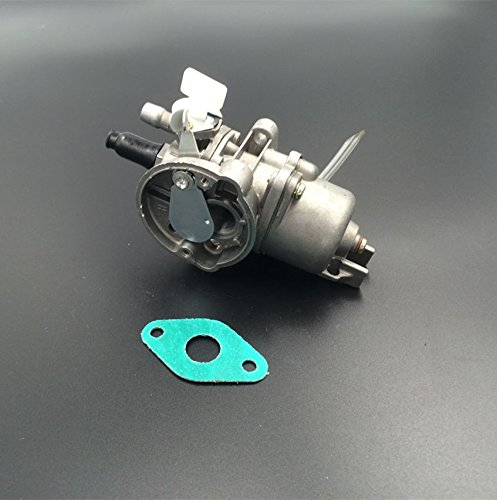 JIKAN 2 Stroke 49cc 47cc 43cc Mini Dirt Pocket Bike Atv Quad Carburetor with gasket (Mini Quad Gasket compare prices)