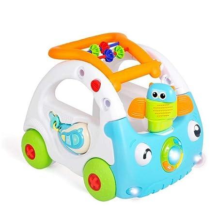 Primeros pasos de bebé Centro de actividades ajustable con 3 ...