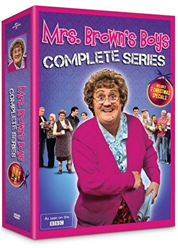 Boys Series (Mrs Brown's Boys: The Complete Series Box Set (DVD, 8-Disc Set))