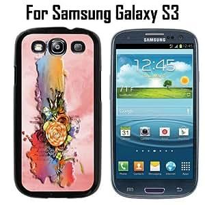 Beautiful Literary Postcard Custom Case/ Cover/Skin *NEW* Case for Samsung Galaxy S3 - Black - Plastic Case (Ships from CA) Custom Protective Case , Design Case-ATT Verizon T-mobile Sprint ,Friendly Packaging - Slim Case