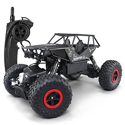 Mioshor RC Crawler Off-Road Rock Vehicle Jeep Trucks 2.4Ghz 4WD High Speed 1/14 Radio Remote Control Racing Cars Electric Fast Race Buggy Hobby Car ()