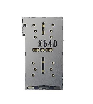 Gigabue Lector de Tarjeta SIM Card Reader para Sony Xperia X ...