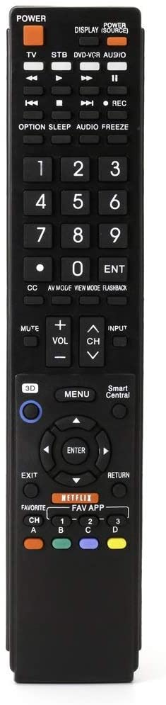 Control remoto Sharp AQUOS TV GB004WJSA GB005WJSA