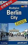 Berlin City 1 : 10.000 Stadtplan: Innenstadtkarte mit 30 Sightseeing-Tipps, S- und U-Bahn-Plan, Museen, Theater, Shopping- und Nightlife-Tipps