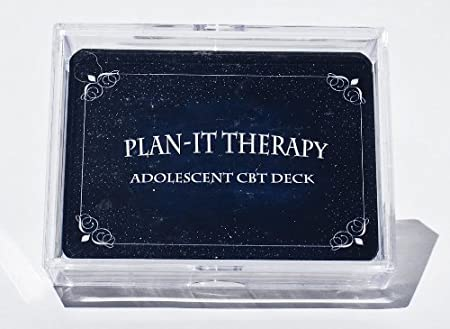 Amazon.com : Plan-It Therapy Adolescent CBT Deck : Everything Else