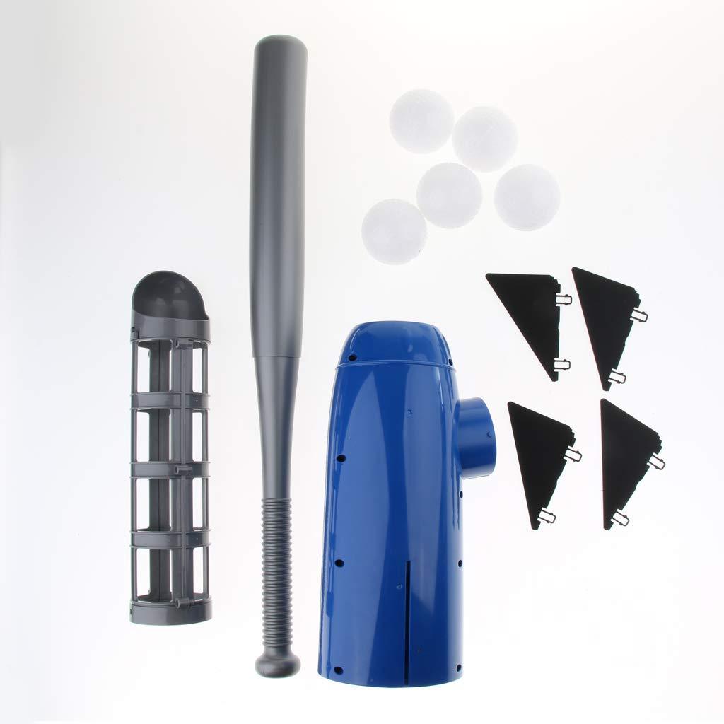 B Blesiya Automatische Baseball Pitching Machine /Übungsmaschine Set