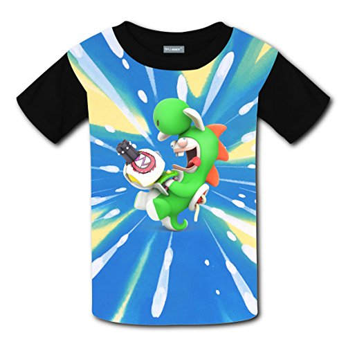 Boys' Rabbid Yoshi Short Sleeve T Shirt - Youth (Ice Climbers Halloween)