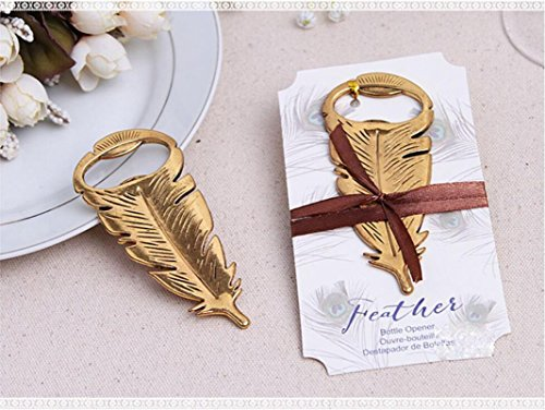 Bottle Opener, Kemilove Retro Vintage Feather Shape Alloy Tool Bar Party Gift by Kemilove (Image #4)