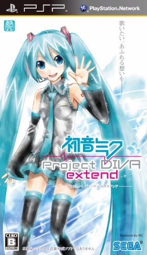 Hatsune Miku: Project Diva Extend (Sony PSP)[Japanese Language Import]