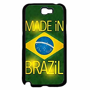 Made in Brazil TPU RUBBER SILICONE Phone Case Back Cover Samsung Galaxy Note II 2 N7100 by lolosakes