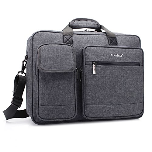 CoolBELL 15.6 Inch Laptop Briefcase Protective Messenger Bag