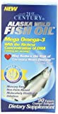 21st Century Alaska Wild Fish Oil Softgels, 90-Count (Pack of 2)